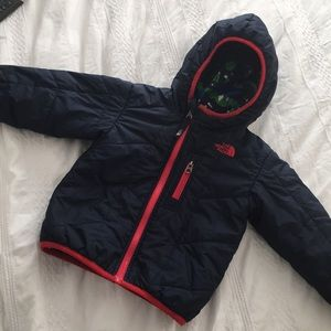 The North Face 18-24 Navy Blue Reversible Jacket